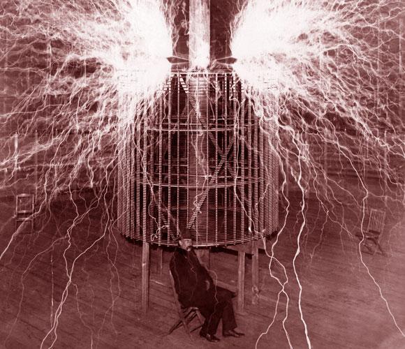 ניסוי סליל חשמלי של טסלה