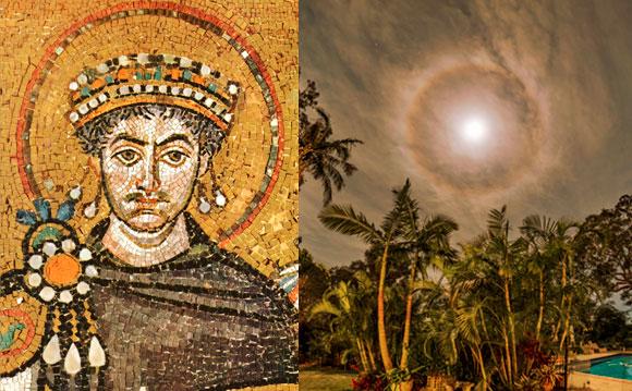 הילת ירח והילת קדושה