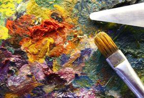 ציור בכל צבעי הקשת